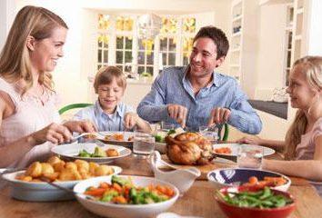 Exemplos de tradições familiares em nossa casa