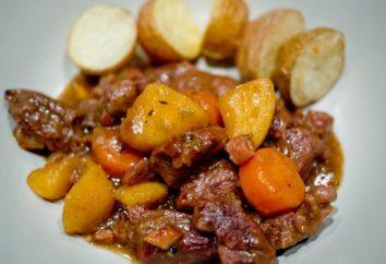Recette « la viande et les pommes de terre dans multivarka » – un délicieux, copieux, simple