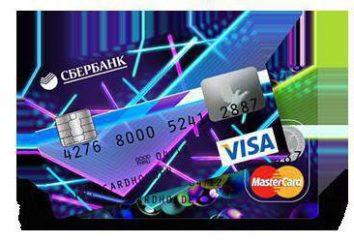 cartes Sberbank: types et coûts d'entretien (photo)