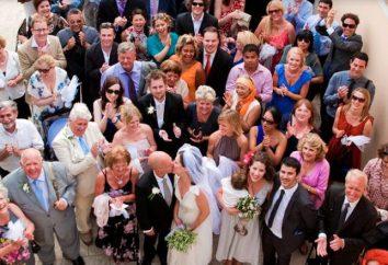 Charakterystyka gośćmi na weselu w formie konkursu z nagrodami