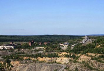 Mount Grace dans la région de Sverdlovsk