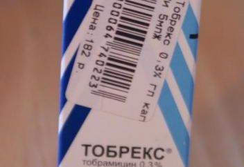 """Gotas para los ojos """"Tobrex"""": opiniones, instrucciones"""