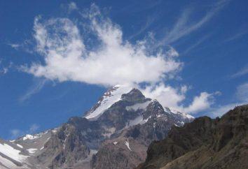 Gdzie jest Mount Aconcagua? Wysokość góry, opis
