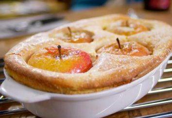 Charlotte com maçãs com sêmola – receita
