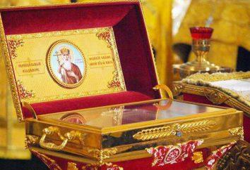 Le reliquie del principe Vladimir: dove sono ciò che aiutano