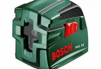 Laser level Bosch PCL 10 Set: especificaciones, fotos y comentarios