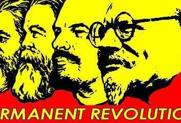 Permanente Revolution: die Definition, die grundlegenden Ideen der Autoren und Unterstützer. Leo Trotzki