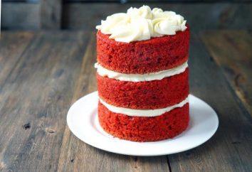 """Bolo """"veludo vermelho"""" do Chef Andy: Receita e dispõe de cozinha"""