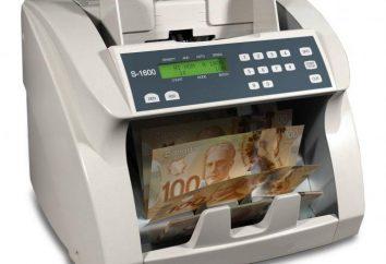 Contando Macchina per il denaro con il rivelatore. Caratteristiche e descrizione kupjuroschetnye macchina da scrivere