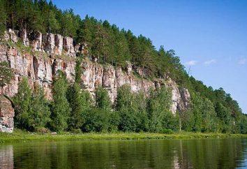 Die Zuflüsse des Urals: Beschreibung
