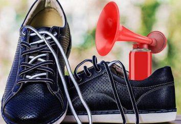 Comment se débarrasser de grincer des chaussures lors de la marche? Pourquoi grincer des chaussures