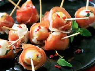 Aperitivo de pescado rojo: delicioso y refinado
