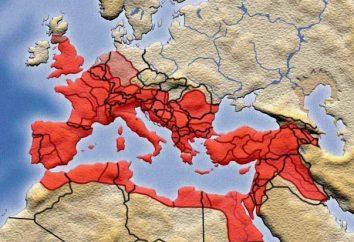 Província do Império Romano. Lista de províncias romanas