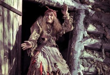 contes populaires russe Baba Yaga,