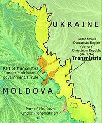 República Moldava del Dniéster: mapa, gobierno, presidente, moneda e Historia