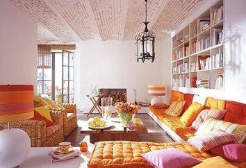 Le choix des styles d'intérieur. style marocain