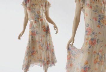 Sukienki z szyfonu z własnymi rękami – niedrogie i łatwe
