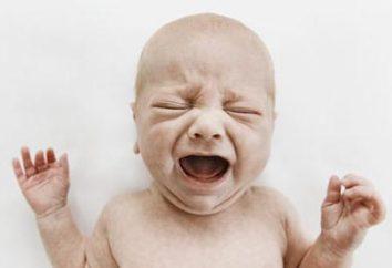 Dziecko płacze: dlaczego?