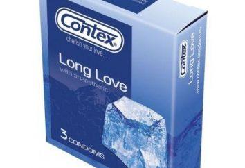 Preservativos Contex Longo amor – o amor que está com pressa …