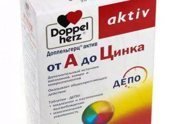 """Descripción de preparados vitamínicos """"Doppelgerts ir de A a zinc."""" """"Doppelgerts ir de A a cinc"""": opiniones de admisión"""