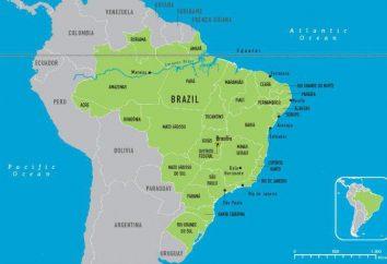 Área do Brasil, natureza e população do país