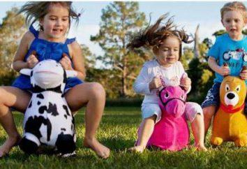 Donkey-skoczek, dziecko zabawka: opis, opinie