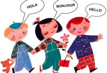 Como explicar a uma criança por que você precisa para aprender línguas