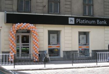 """Platinum Bank"": avis. « Platinum Bank »: comment obtenir un prêt?"