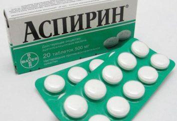 """É possível dar às crianças """"Aspirina"""": instruções de uso, dosagem e comentários"""