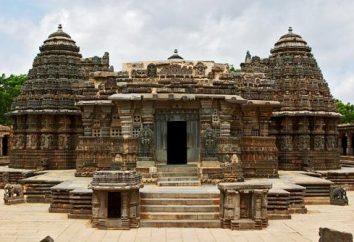 A arquitetura da Índia antiga. Características da arquitetura da Índia antiga. templos da Índia