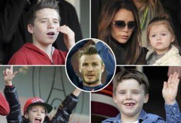 Dzieci Beckham – duma znanego piłkarza