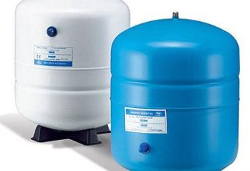 Les accumulateurs pour l'alimentation en eau. -50 Accumulator