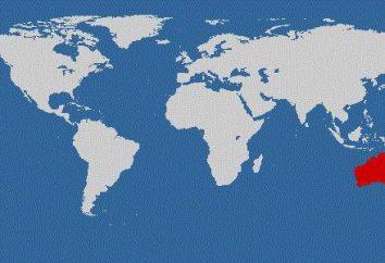 Comme l'Australie est par rapport aux autres continents? Faits intéressants sur le continent vert