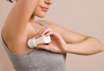 desodorante seguro. Marca y la composición de los desodorantes