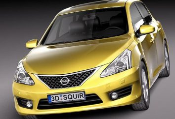 """Ogólny opis i dane techniczne """"Nissan Tiida"""""""