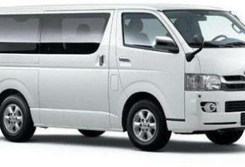 Minibus « Toyota Hayes » – le transport de passagers à l'aise avec une perspective de développement plus
