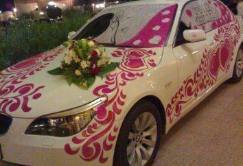Ślub samochód dekoracji – przyjemne porządki