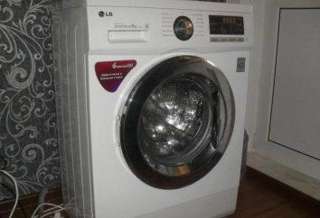 Máquina de lavar LG E1296ND3: descrição, características, fotos