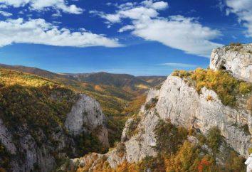 Krym Kaniony: przegląd, opis atrakcji turystycznych i ciekawych faktów. Wielki Kanion Krymu samochodem
