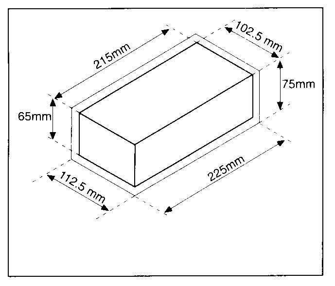 standard ziegel gr e und sorten von ziegel. Black Bedroom Furniture Sets. Home Design Ideas