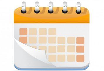 Combien de jours ouvrables dans le mois. Le nombre moyen de jours ouvrables dans un mois