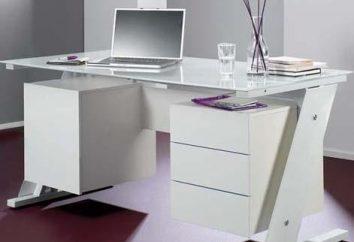 Czy praktyczny w użyciu biurka komputerowe białe?