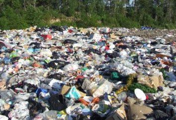Classificazione di produzione e rifiuti consumo. Classificazione della classe di pericolosità dei rifiuti