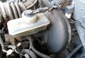 Remise en place du maître-cylindre de frein VAZ-2107: retrait et l'installation