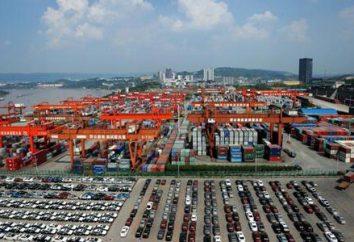 Was ist der Import und Export? Exportieren und Länder wie Indien, China, Russland und Japan importieren