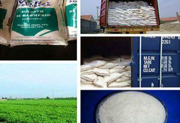 Le sulfate de magnésium (engrais): mode d'emploi, le prix