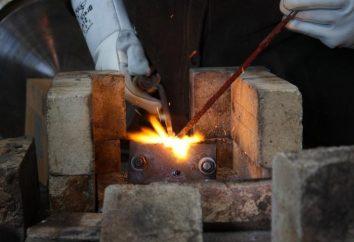 fundido de soldagem de ferro