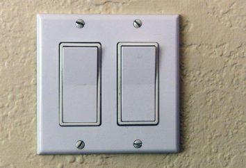 Come collegare un doppio interruttore due lampadine? Cablaggio dell'interruttore Schema dvuhklavishnogo