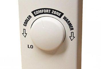 Termostato mecânico: tipos, princípios de funcionamento e instalação. Termostatos para caldeiras de aquecimento