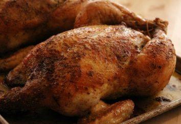 W jakiej temperaturze upiec kurczaka w całości piekarnika i kawałki